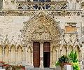 Saint-Lô Église Notre-Dame Portail de la tour sud 2019 08 19.jpg