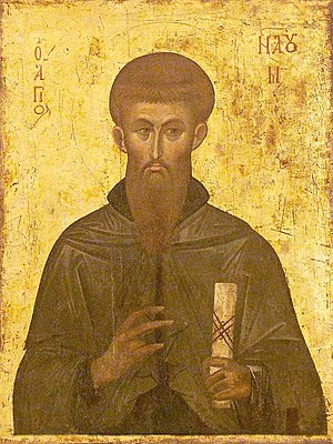 Saint Naum - Icon of Saint Naum