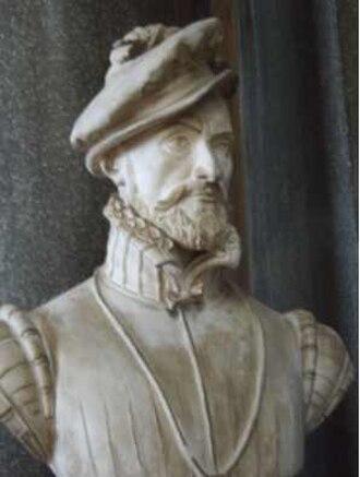 Jacques Dalbon, Seigneur de Saint Andre -  Jacques d'Albon, seigneur de Saint-André by Jean-François-Théodore Gechter, Galerie des batailles at the château de Versailles
