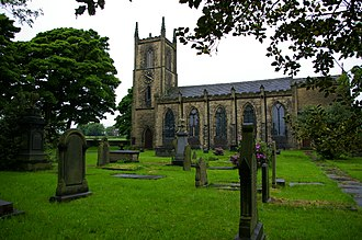 Anne Lister - Anne Lister is buried in St Anne's church, Southowram, West Yorkshire