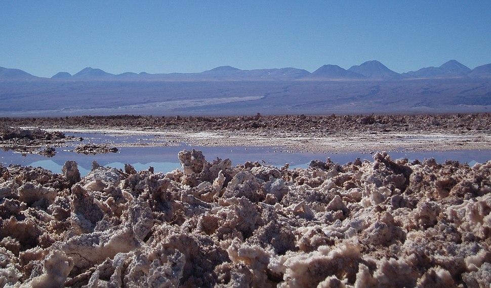 Salar d'Atacama hé