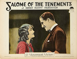 Salome of the Tenements - Lobby card