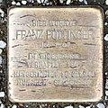 Salzburg - Schallmoos - Weiserhofstraße 4 - 2017 04 26 - Stolperstein Franz Pöttinger.jpg