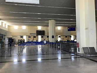 Samos International Airport - Check-in hall