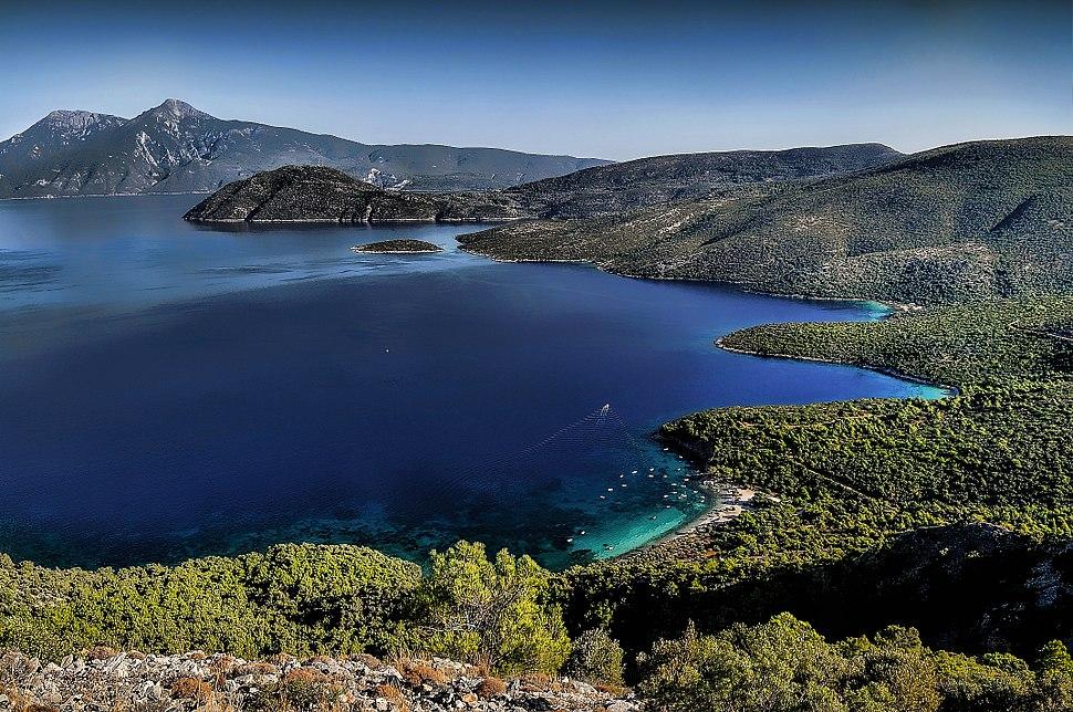 Samos and Turkey