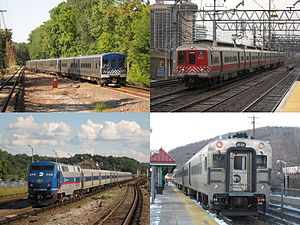 Metro-North Railroad - Metro-North Railroad provides services in the lower Hudson Valley and coastal Connecticut.