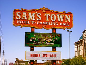 The Killers - Sam's Town is named after a locals casino in the band's hometown of Las Vegas