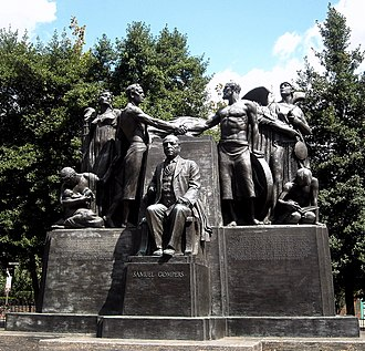 Samuel Gompers Memorial - Image: Samuel Gompers Memorial, Mass Ave