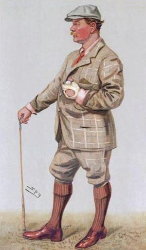 Samuel Mure Fergusson - Fergusson, as caricatured by Spy in 1903 for Vanity Fair magazine.