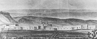 San Miguel del Vado - San Miguel del Vado in 1846.