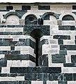 San michele di murato, fianco dx, con rilievi del 1140 ca. 03.jpg