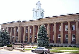 Fremont, Ohio - Sandusky County Courthouse in Fremont.