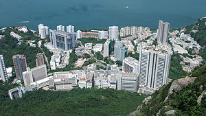 Sandy Bay, Hong Kong - Sandy Bay, viewed from High West