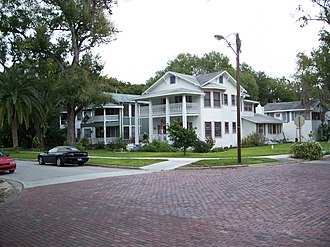 Sanford Residential Historic District - Image: Sanford Residential Hist Dist house 2