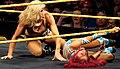 Sasha vs. Charlotte NXT Live event.jpg