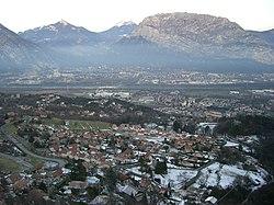 Sassenage - Vue de la Route de Villard-de-Lans.JPG
