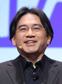 Satoru Iwata - Game Developers Conference 2011 - Day 2 (3) (cropped 2).jpg