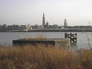 Scheldt - The Scheldt in Antwerp