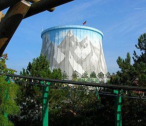 SNR-300 - Schneller Brüter Kalkar, fast breeder reactor SNR-300, now an amusement park.