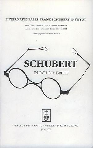 Ernst Hilmar - Schubert durch die Brille 29