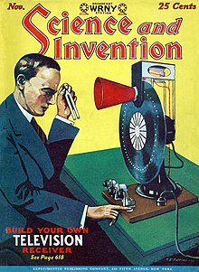 Cover of Science and Invention Magazine