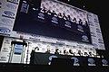Scott Mantz, Ernest Cline, Zak Penn, Tye Sheridan, Olivia Cooke, Lena Waithe, Ben Mendelsohn, Philip Zhao & Win Morisaki (40210247975).jpg