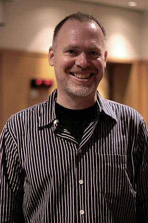 Scott Westerfeld - Westerfeld at Utopiales 2010