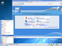 Screenshot of Trinity 3.5.12, Kubuntu version