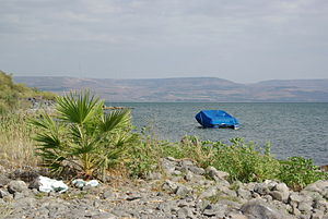Sea of galilee, near Capernaum