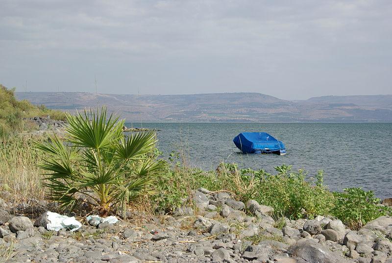 File:Sea of Galilee BW 1.jpg