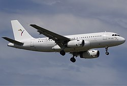 Airbus A319 der damaligen South East Asian Airlines