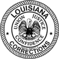 Seal of the Louisiana Department of Public Safety and Corrections.png