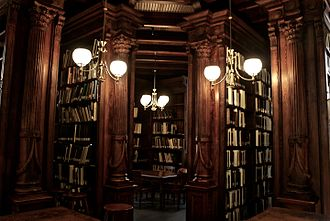 Brooklyn Historical Society - A corner of the library