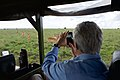 Secretary Kerry Takes a Photo of a Group of Impala in Nairobi National Park (17357672581).jpg
