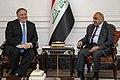 Secretary Pompeo Meets with Iraqi Prime Minister Adil Abdul-Mahdi (40836695893).jpg