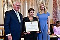 Secretary Tillerson and Advisor to the President Ivanka Trump With 2017 TIP Hero Amina Oufroukhi of Morocco (34729872264).jpg