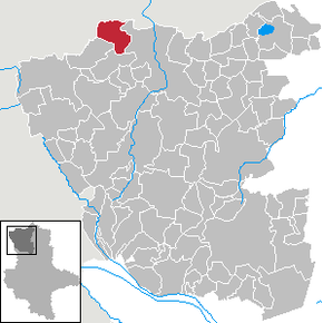 Location of Seebenau in Altmarkkreis Salzwedel district prior to its merger into Salzwedel