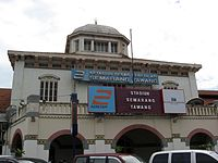Semarang Tawang station outside.jpg