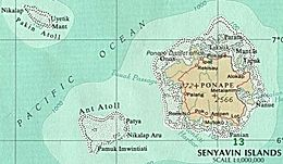 Pohnpei – Mappa