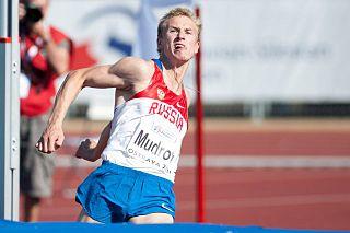 Sergey Mudrov Russian high jumper