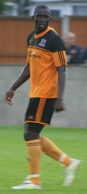Seyi Olofinjana - Olofinjana playing for Hull City in 2012