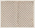Sheet with dot grid pattern with bouquets Met DP886706.jpg