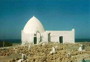 Somaliland - The tomb of Sheikh Isaaq, the founding father of the Isaaq clan, in Maydh, Sanaag