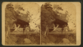 Sheltered falls, Pikes Peak trail, from Robert N. Dennis collection of stereoscopic views.png