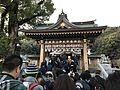 Shimmon gate of Kasuga Shrine in Kasuga, Fukuoka 20170101.jpg