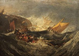 Les îles des ombres 310px-Shipwreck_of_the_Minotaur_William_Turner
