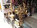 Shivaji market old krishna statue.JPG