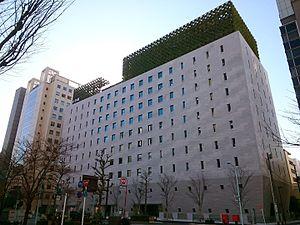 Shogakukan - The exterior of Shogakukan's main headquarters in Chiyoda, Tokyo, Japan