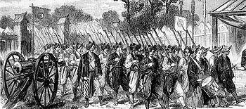 Shogunal troops in 1864.Illustrated London News.
