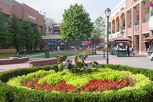 Short Pump Town Center - The Mall's Central Courtyard